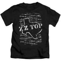 Image for ZZ Top Kids T-Shirt - Barbed