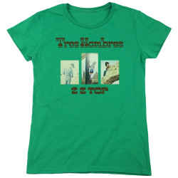 Image for ZZ Top Womans T-Shirt - Tres Hombres