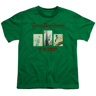 Image for ZZ Top Youth T-Shirt - Tres Hombres