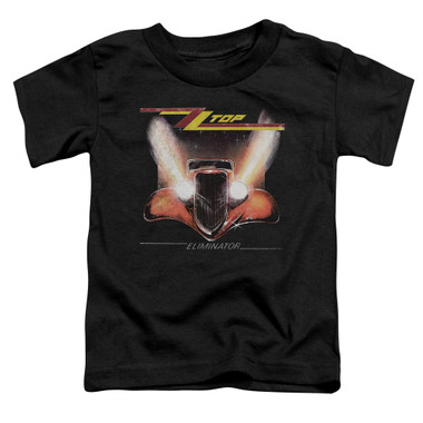 Image for ZZ Top Toddler T-Shirt - Eliminator Cover