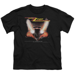 Image for ZZ Top Youth T-Shirt - Eliminator Cover