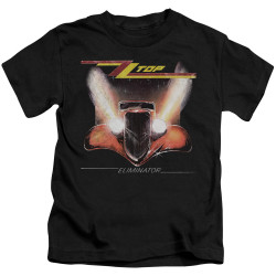 Image for ZZ Top Kids T-Shirt - Eliminator Cover