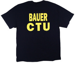 Image Closeup for 24 Bauer CTU Raid T-Shirt