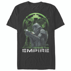 Image for Star Wars Rogue One Defend the Empire T-Shirt