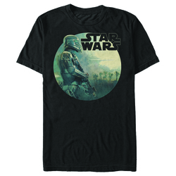 Image for Star Wars Rogue One Trooper Circle T-Shirt