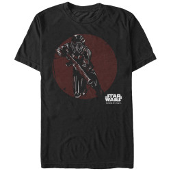 Image for Star Wars Rogue One Death Trooper Charge T-Shirt
