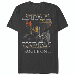 Image for Star Wars Rogue One Space Flight T-Shirt
