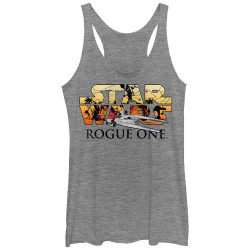 Image for Star Wars Rogue One Womens Tank Top - U-Wing Logo