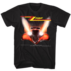 Image for ZZ Top Eliminator Classic Cover T-Shirt
