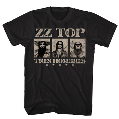 Image for ZZ Top Tres Hombres Classic T-Shirt