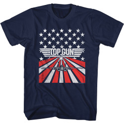Image for Top Gun T-Shirt - Stars & Stripes