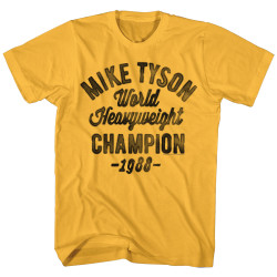 Image for Mike Tyson T-Shirt - Heavyweight Champ '88