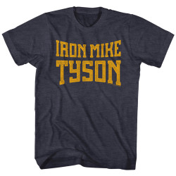 Image for Mike Tyson Heather T-Shirt - Iron
