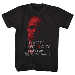 Image for Godfather T-Shirt - No Apolgies
