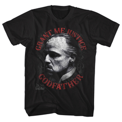 Image for Godfather T-Shirt - Grant Me Justice Godfather