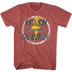 Image for Flash Gordon AAAA-AHHHH! Heather T-Shirt