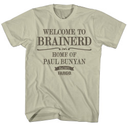 Image for Fargo T-Shirt - Welcome to Brainerd