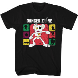 Image for Danger Mouse T-Shirt - Into the Danger Zone