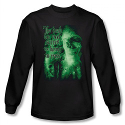Image for Lord of the Rings King of the Dead Long Sleeve T-Shirt