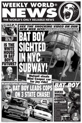 Image for Weekly World News Poster - Bat Boy