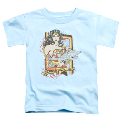 Image for Wonder Woman Invisible Jet Toddler T-Shirt