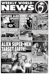 Image for Weekly World News Poster - Aliens