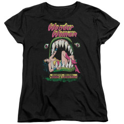Image for Wonder Woman Womans T-Shirt - Jaws of the Leviathon