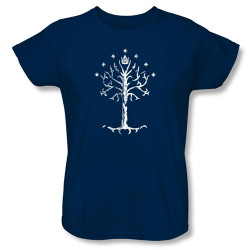 Image for Lord of the Rings Woman's T-Shirt - Tree of Gondor