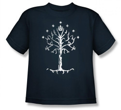 Image for Lord of the Rings Youth T-Shirt -Tree of Gondor