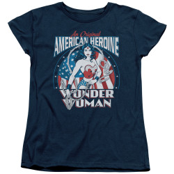 Image for Wonder Woman Womans T-Shirt - American Heroine