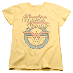 Image for Wonder Woman Womans T-Shirt - Faded Wonder