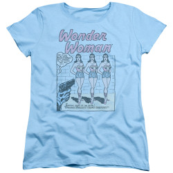 Image for Wonder Woman Womans T-Shirt - The Real One