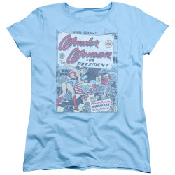 Image for Wonder Woman Womans T-Shirt - WW for President