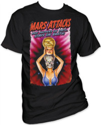 Image Closeup for Mars Attacks! What Happens on Earth... T-Shirt