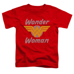 Image for Wonder Woman Wings Toddler T-Shirt