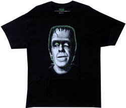 Image Closeup for The Munsters Herman Head T-Shirt