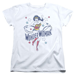 Image for Wonder Woman Womans T-Shirt - Wonder Stars
