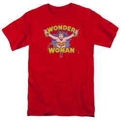 Image for Wonder Woman T-Shirt - Flying Through