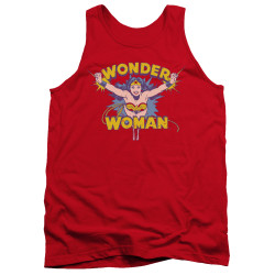 Image for Wonder Woman Tank Top - Flying Through