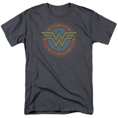 Image for Wonder Woman T-Shirt - Vintage Emblem