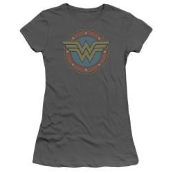 Image for Wonder Woman Girls T-Shirt - Vintage Emblem