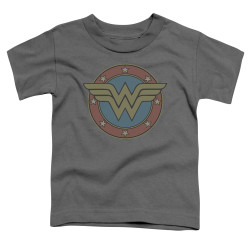 Image for Wonder Woman Vintage Emblem Toddler T-Shirt
