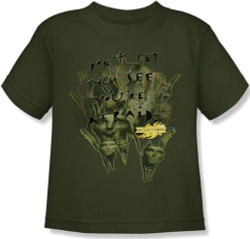 Image for MirrorMask Kids T-Shirt - Don't Let Them See You're Afraid