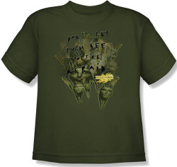Image for MirrorMask Youth T-Shirt - Don't Let Them See You're Afraid