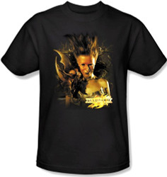 Image Closeup for MirrorMask T-Shirt - Queen of Shadows
