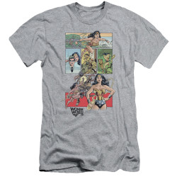 Image for Wonder Woman Premium Canvas Premium Shirt - WW 75 Comic Page