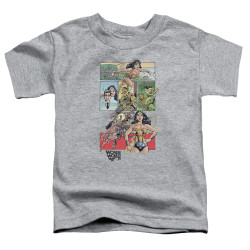 Image for Wonder Woman WW 75 Comic Page Toddler T-Shirt