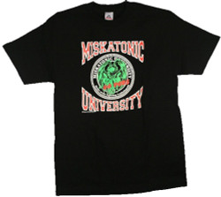 Image Closeup for HP Lovecraft Miskatonic University Go Pods T-Shirt