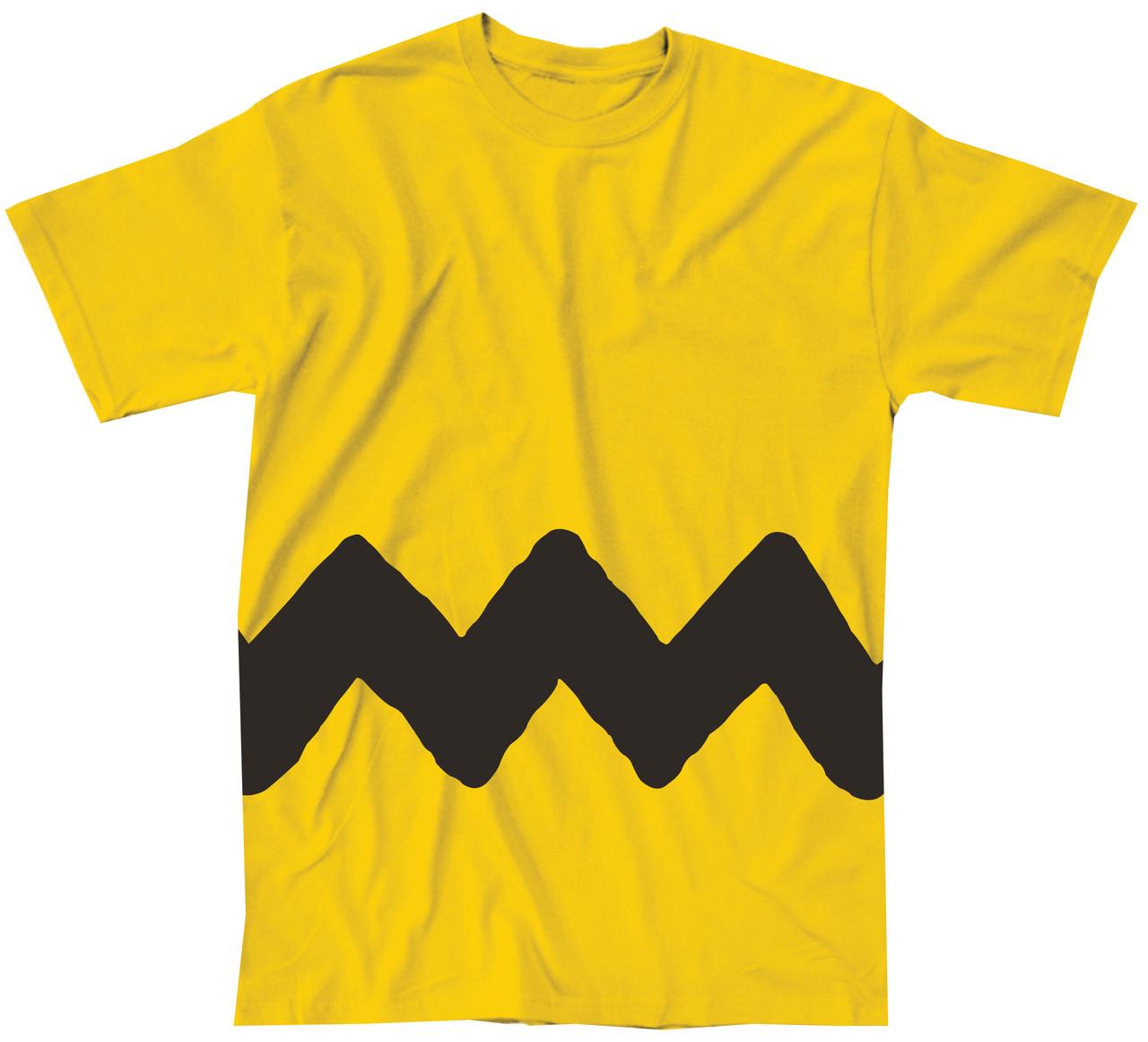 e6a01ff00 Charlie Brown Stripe Costume T-Shirt - NerdKungFu