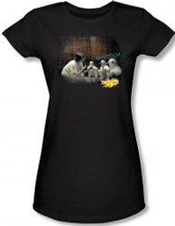Image for MirrorMask Girls T-Shirt - Bob Malcolm